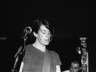 Julie Doiron - Julie Doiron playing with Eric's Trip in Saskatoon, 2001