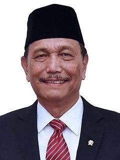 Luhut Binsar Pandjaitan Indonesian politician