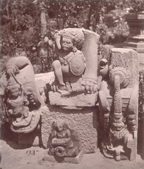 KITLV 87802 - Isidore van Kinsbergen - Hindu-Javanese sculptures come from Yogyakarta, moved to Magelang - Before 1900.tif