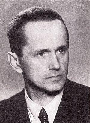 Kazimierz Moczarski - Kazimierz Moczarski in c.1956