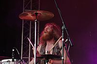 Kadavar (German Psychedelic Rock Band) (Krach Am Bach 2013) IMGP8905 smial wp.jpg