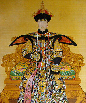 Giuseppe Castiglione (Jesuit painter) - The Empress Xiaoxianchun