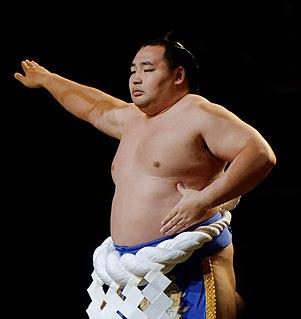 Kakuryū Rikisaburō Mongolian sumo wrestler