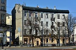 Kamienica Domańskich w Warszawie widok od strony placu Zbawiciela.jpg