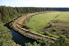 The Great Brahe Canal (Wielki Kanał Brdy) in the Tuchel Heath