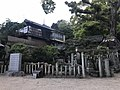 Kanayamahiko Shrine in Ushitora Shrine.jpg