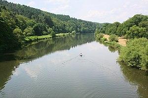 Valley of the river Sieg in Germany Esperanto:...