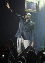 West at the Nokia Theatre, New York in August 2006.