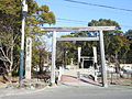 Karasu shrine 1st Torii.jpg