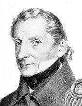 Karl August Freiherr von Wangenheim, 1819 (Quelle: Wikimedia)