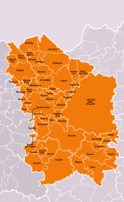 Municipalities of Karlovy Vary District