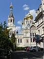 Karlsbad Orthodoxe Kirche - Südseite 1.jpg