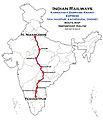 Karnataka Samparkkranti Express (via Kacheguda) Route map.jpg