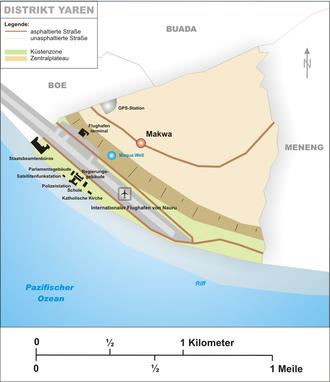 Yaren District - Map of Yaren