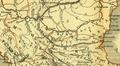 Karte aus dem Buch Römische Provinzen von Theodor Mommsen 1921 16k.png