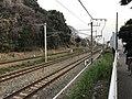 Kashii Line and Kagoshima Main Line near Kyushu Sangyo University.jpg