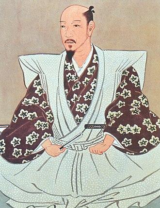 Katō Kiyomasa - Portrait of Katō Kiyomasa