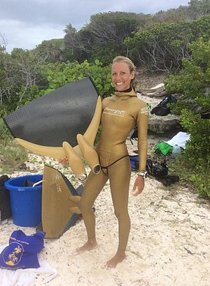 Kate Middleton (free-diver) - Freediving CWF Kate Middleton from New Zealand