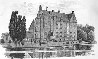 Katholm Castle - As seen from east - anno 1885