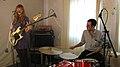 Katy Goodman and Jonathan Weinberg, La Sera, Room 205, 2010-11-16.jpg