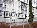 Kauppatori road sign 20180424.jpg