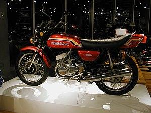 Kawasaki triple - S2 Mach II 350