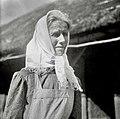 """Kegljevič Ana, 68 let, Šentjernej 40, v """"ta mali peči"""" 1952.jpg"""