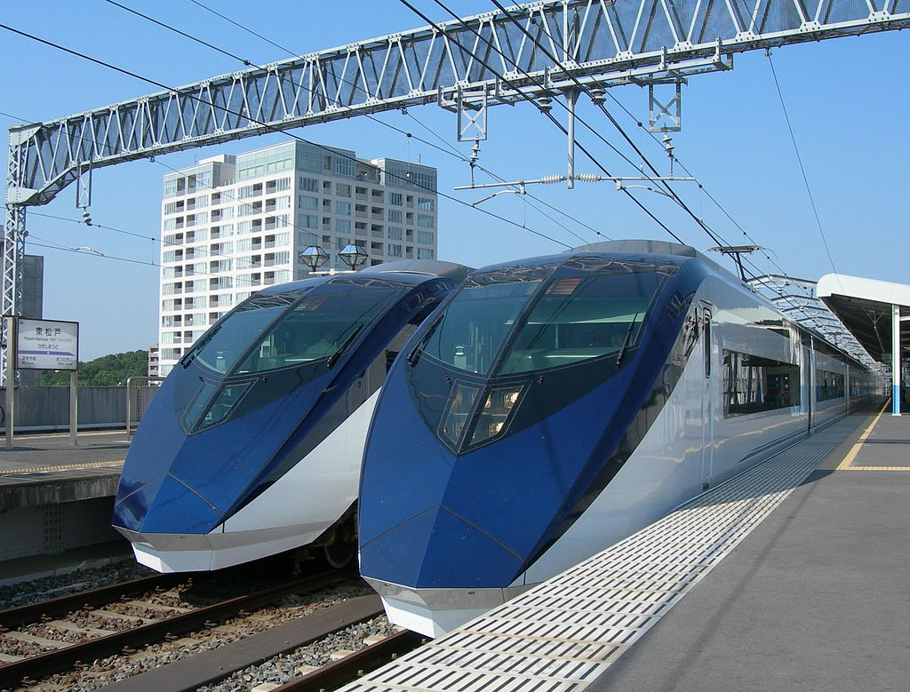 Keisei AE 2nd line up in Higashimatsudo