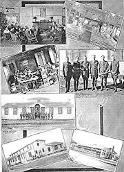 Kelly Field photo montage - World War I