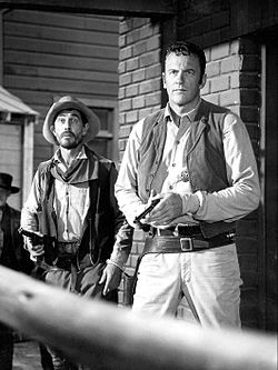 Ken Curtis James Arness Gunsmoke 1968.JPG