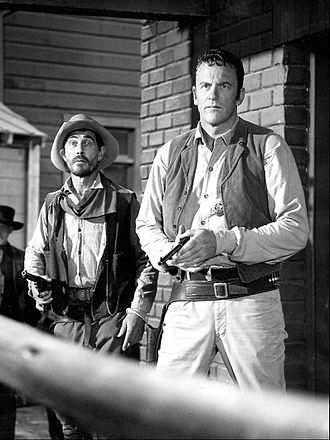 Gunsmoke - Ken Curtis as Festus and Arness as Dillon, 1968
