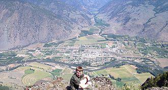 Keremeos - Keremeos from K-Mountain June 2014