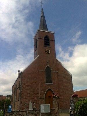 Nederlands: Kerk van Vlekkem (in Erpe-Mere)