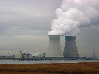 Nuclear energy in Belgium - Doel Nuclear Power Station near Antwerp