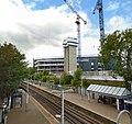 Kew Bridge Station and the new Brentford Community Stadium.jpg