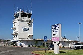 Fullerton Municipal Airport - Image: Kful (44742308980)