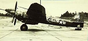 Kawasaki Ki-102 - Ki-102 in USAAF markings after the war