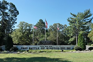 Battle of Kinston - Image: Kinston Battlefield