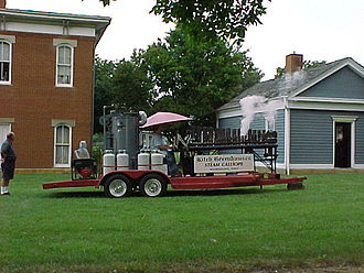 Calliope (music) - Kitch Greenhouse Steam Calliope at the Ohio Historical Society – July, 2006