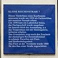 Kleine Reichenstraße 7 (Hamburg-Altstadt).Tafel.11877.ajb.jpg