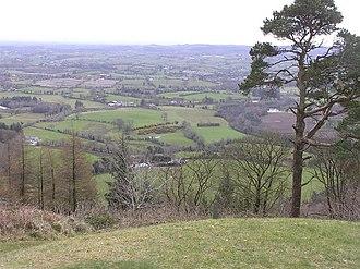 Achaidh Leithdeircc - Knockmany Hill - overlooking the Clogher valley