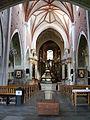 Kościół, ob. par. pw. św. Jana Ewangelisty, 2 poł. XI, XIII-XVI-XVIII wnętrze (13).JPG