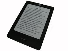 Photograph of Kobo e-reader