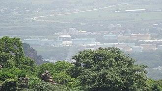 Kondapalli - Kondapalli aerial view