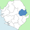 Kono District Sierra Leone locator.png