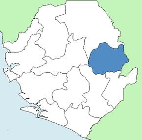 Kono distrikt Wikipedia