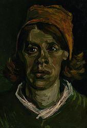 Vincent van Gogh: Head of a Woman