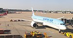 Korean Air Boeing 787-9 HL8081 at Incheon International Airport.JPG
