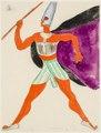 Kostymskiss av Isaac Grünewald - Simson och Delila - SMV - DTM 1950-0252.tif