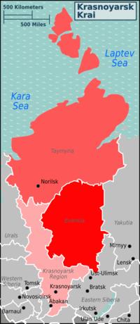 Krasnoyarsk Krai Travel Guide At Wikivoyage